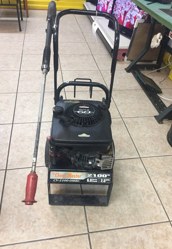 The Chore Master CV-2100-MBC, 2100 psi, 6 0 HP, Pressure Washer, no hose  for Sale in Miami, FL - OfferUp