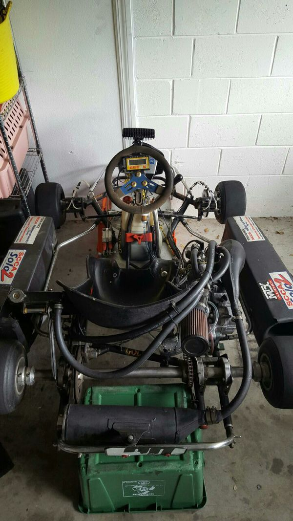 Sale or trade, shifter kart honda cr 125 , gokart for Sale in Plant City,  FL - OfferUp