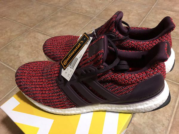 05d38ac051a Adidas ultra boost 4.0 deep burgundy maroon CP9248 for Sale in ...