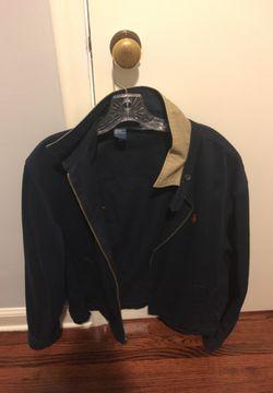 Navy Blue Polo Ralph Lauren Jacket Thumbnail