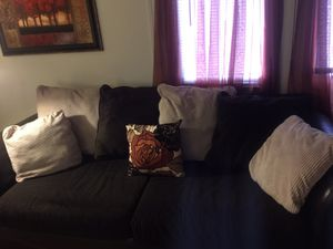 Leather couch and love seat for Sale in Richmond, VA