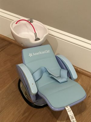 "Photo American Girl Spa Chair and Sink with Working Sounds for 18"" Dolls"