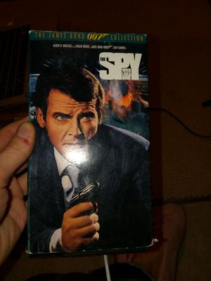 The spy who loved me vhs for Sale in Denver, CO