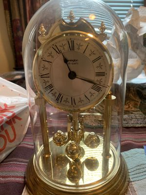 German Antique Remington glass dome clock for Sale in Liverpool, NY