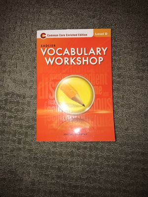 Sadlier Vocabulary Workshop book (used) for Sale in Houston, TX