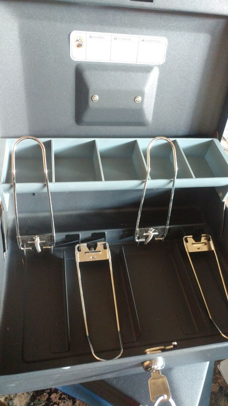 Stainless steel Cash boxes