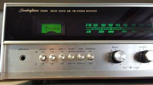 Soundcraftsmen 2000a vintage stereo preamp /reciever. for Sale in Tacoma, WA