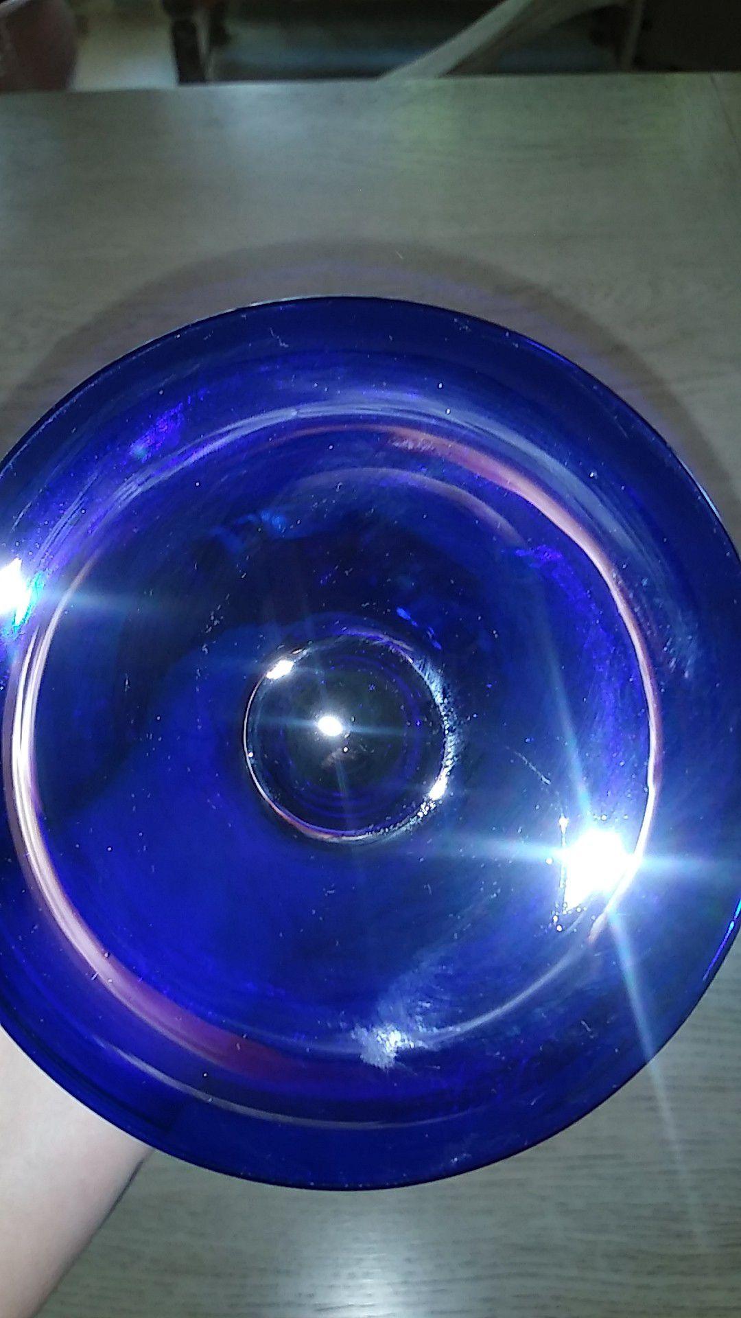 Cobalt blue antique