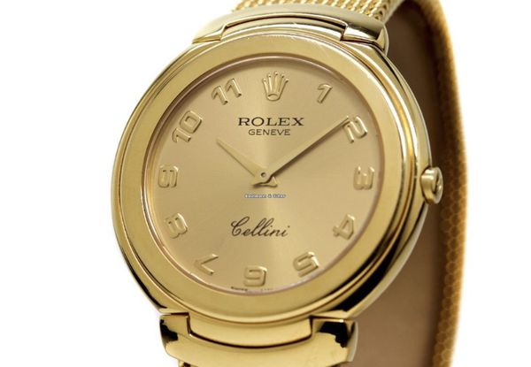 Cool Rolex Cellini 18K Yellow Gold Bracelet For Sale In Los Machost Co Dining Chair Design Ideas Machostcouk