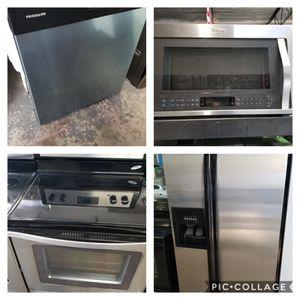 4 pc stainless steel kitchen set for Sale in Ocoee, FL