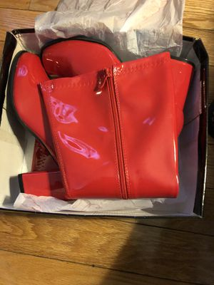 4sale ellie red gogo boots sizes 12 for Sale in Washington, DC