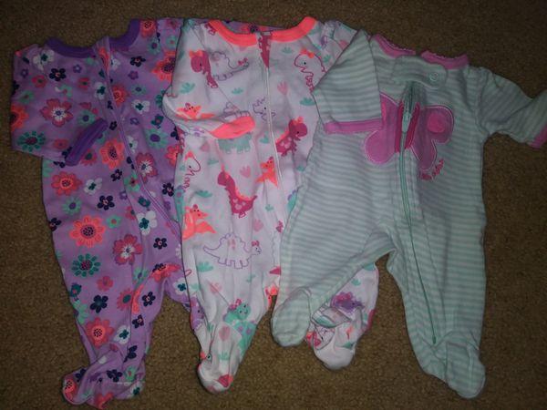 ad8b421b6 Preemie Girls Jammies for Sale in Vallejo, CA - OfferUp