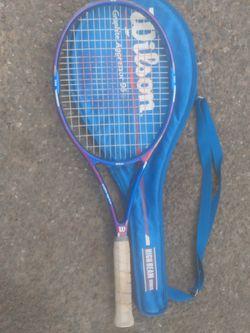 2 Wilson tennis raquets Thumbnail