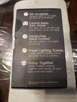 GE motion Sensing +dimmer Smart Switch Thumbnail