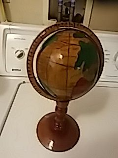 Hand Crafted AFRICAN Globe