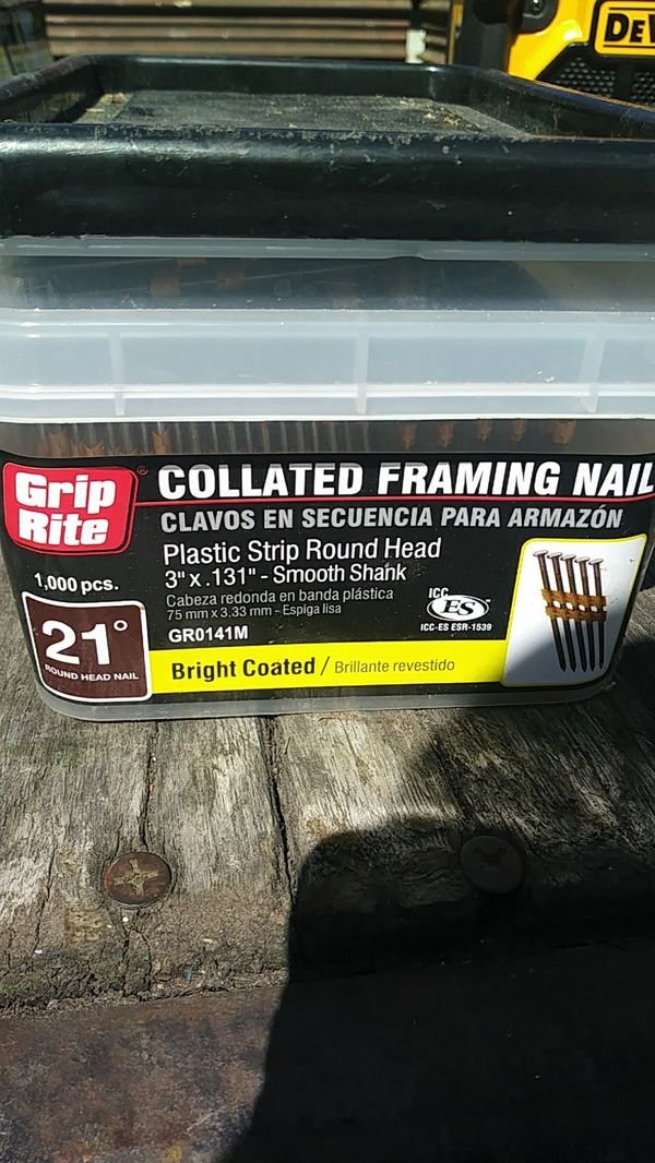 Grip rite framing nails (Tools & Machinery) in Puyallup, WA - OfferUp