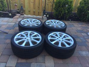 Maserati rims oem size 19 staggered 5x114.3 for Sale in Manassas, VA