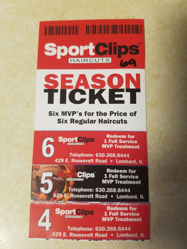 Sport Clips Free Mvp Haircut Coupons For Sale In Lombard Il Offerup