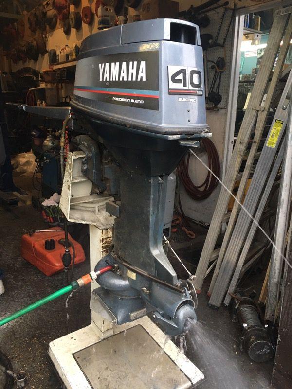 1989 Yamaha 40hp outboard jet/tiller for Sale in Des Moines, WA - OfferUp