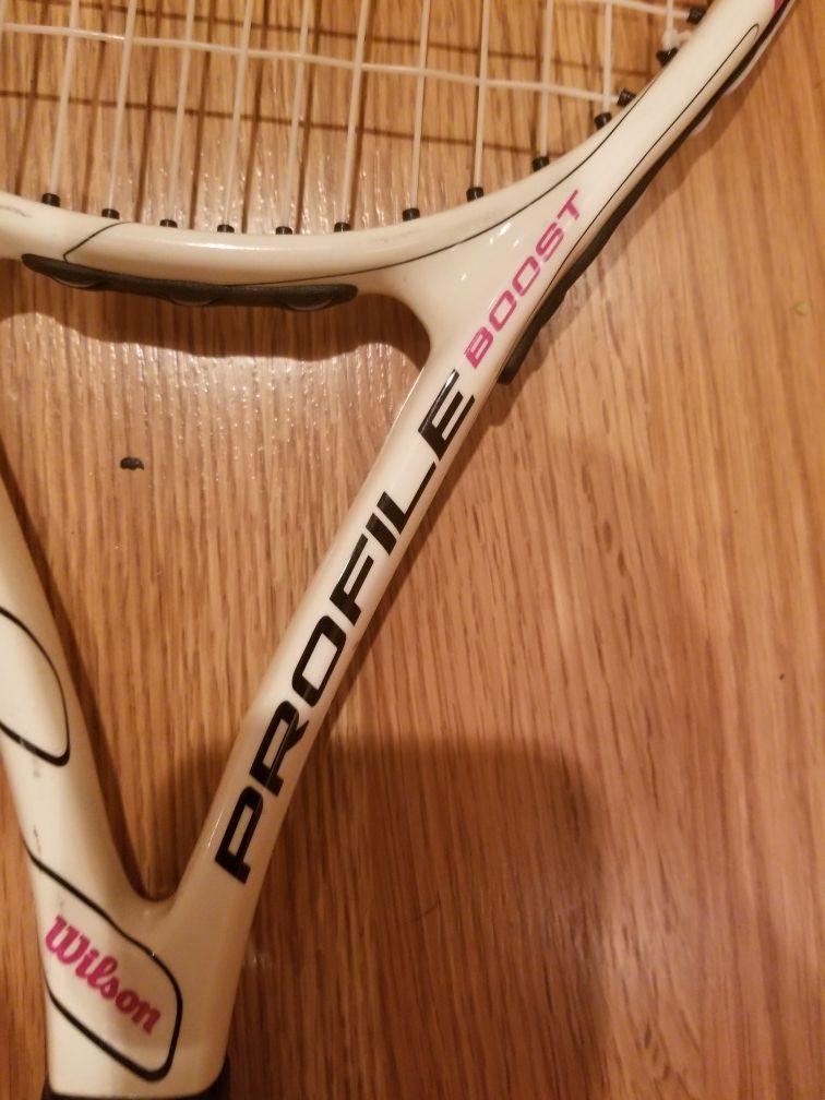 wilson profile boost tennis racquet