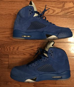 Air Jordan 5 Blue Suede size 12 for Sale in Chantilly, VA