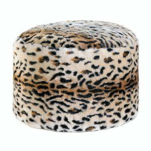 Snow Leopard Fuzzy Ottoman for Sale in Port Barre, LA