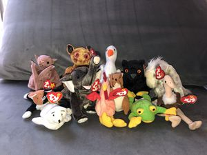 Bennie Baby Variety Animal Lot for Sale in Pittsburgh, PA