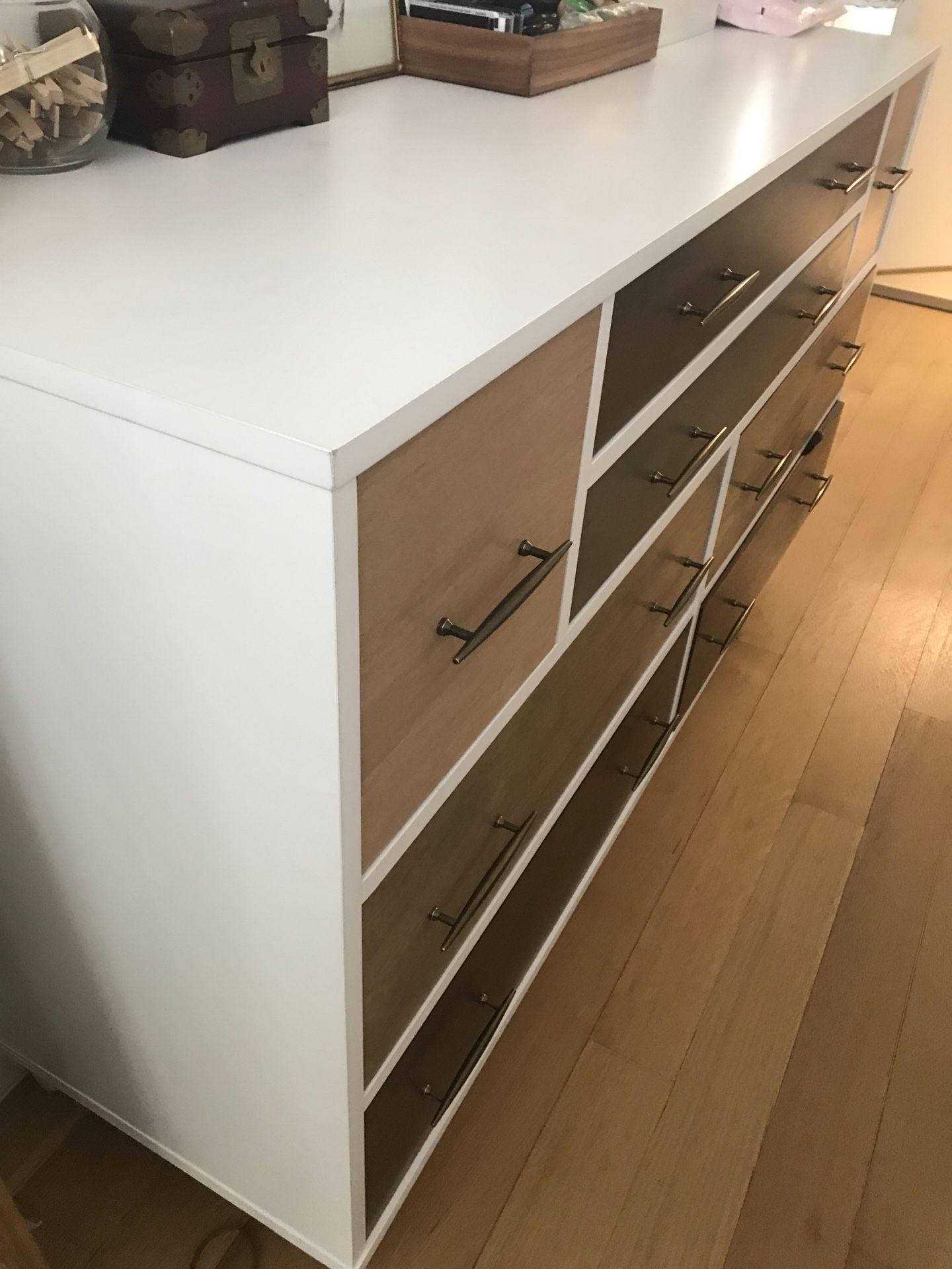Mid century drawer - 8 drawers