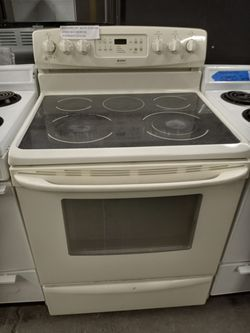 KENMORE OFF WHITE ELECTRIC STOVE WORKING PERFECT W/4 MONTHS WARRANTY Thumbnail