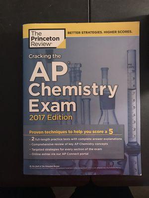 Princeton review AP chemistry review book for Sale in Lake Ridge, VA