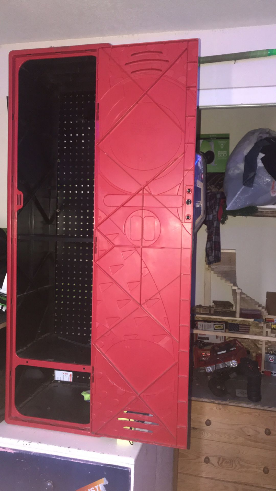 NBA locker for room