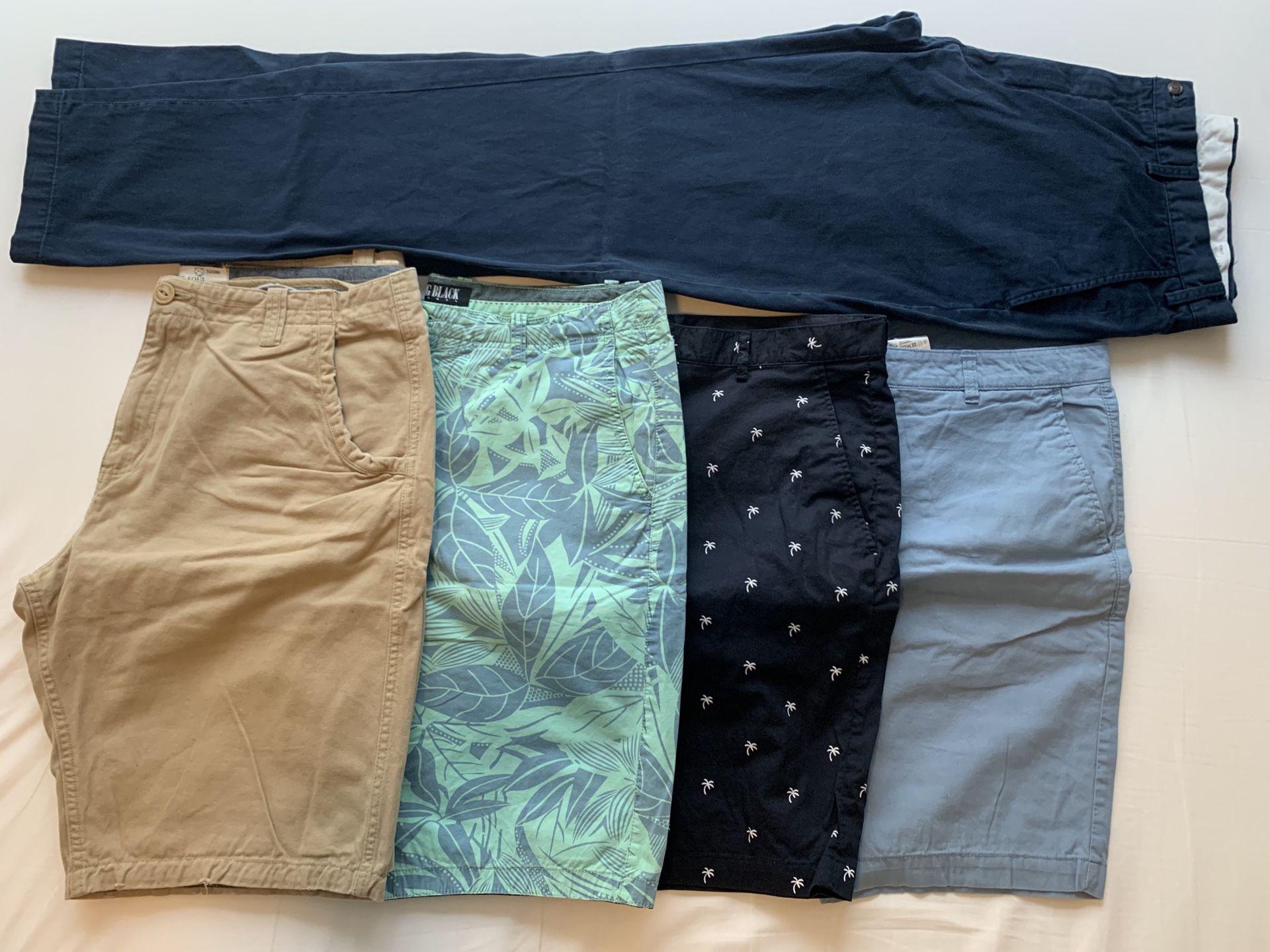 Dress Chino Pants and Shorts (34-36)