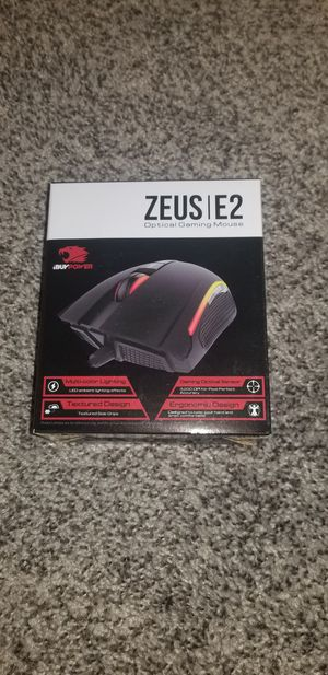 Zeus E2 iBuyPower RGB Gaming Mouse & Pad for Sale in Washington, DC
