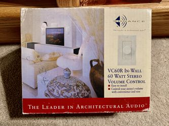 SONANCE 60 watt IN-WALL STEREO VOLUME CONTROL Thumbnail