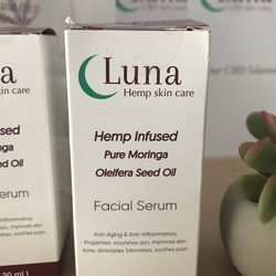Luna Hemp Infused Skincare Products Thumbnail