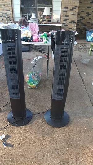 Lasko Tower fan 5 speed for Sale in Memphis, TN