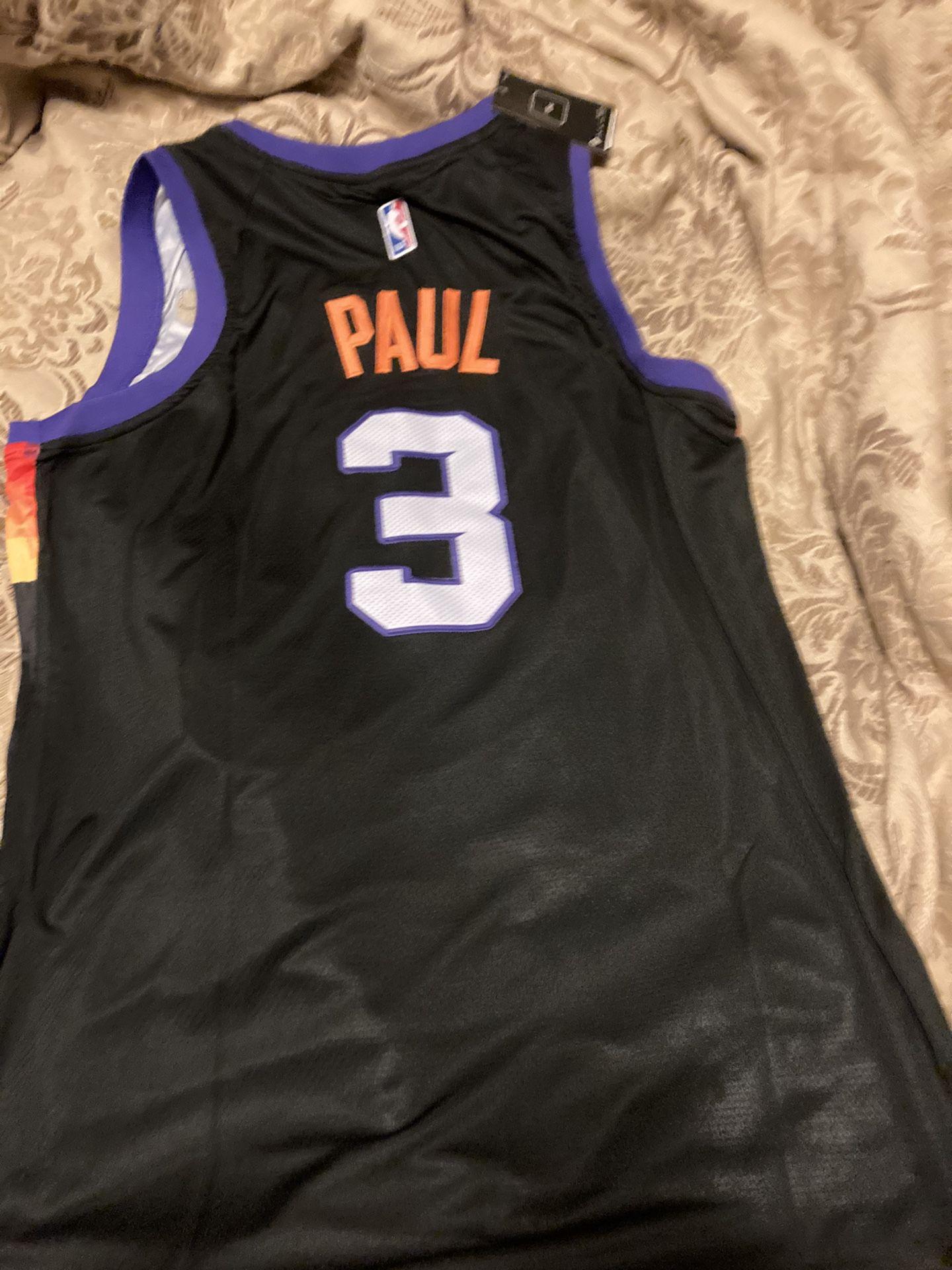 Chris Paul Phoenix Suns Xl Sewn On