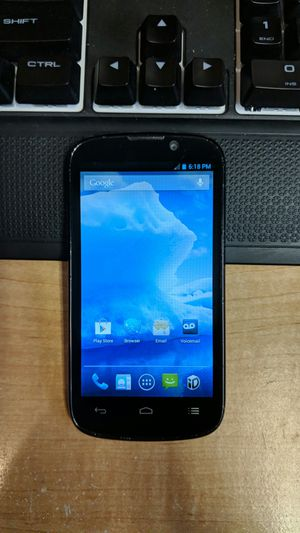 Boost Mobile ZTE Warp Sequent (N861) Cell Phone for Sale in Apache  Junction, AZ - OfferUp