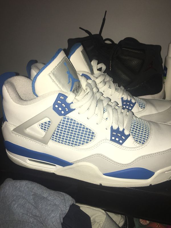 4a31fc9d4af2ed Military blue 4s for Sale in Indianapolis