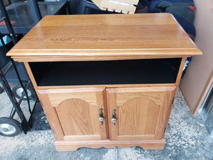 Oak cabinet for Sale in Lynchburg, VA