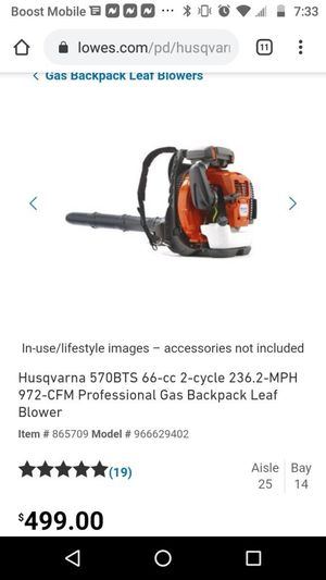 New and Used Leaf blowers for Sale in Canton, OH - OfferUp
