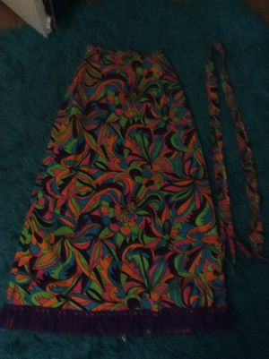 Retro Party Skirt with Sash for Sale in Fort Washington, MD