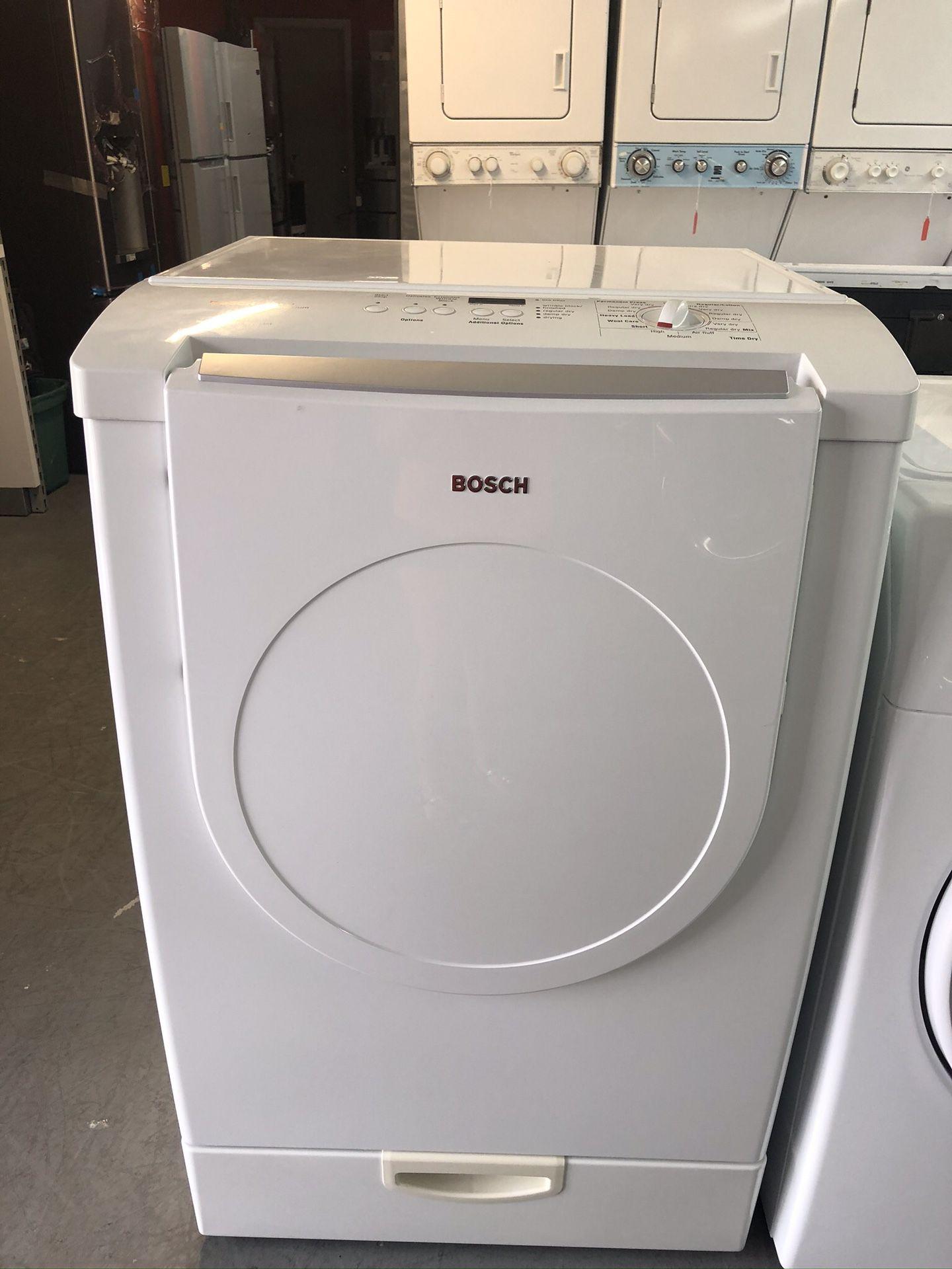 Used Bosch dryer. 1 year warranty