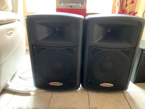 Photo Harbinger APS12 Active Powered speakers