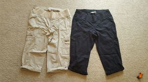 2 size Large Maternity Capri Cargo pants. for Sale in Charles Town, WV
