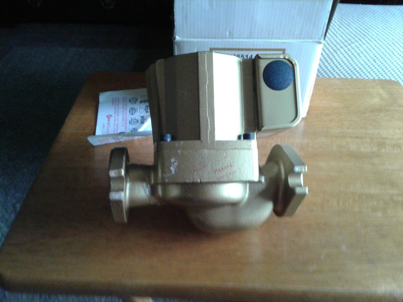 Bell & Bassett circulator pump
