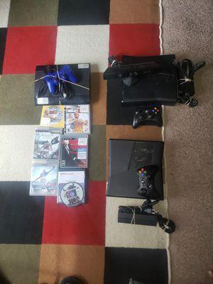 Photo Xbox 360, xbox 360 and playstation 3