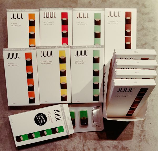 JUUL Pods *see notes for available flavors for Sale in Tempe, AZ - OfferUp