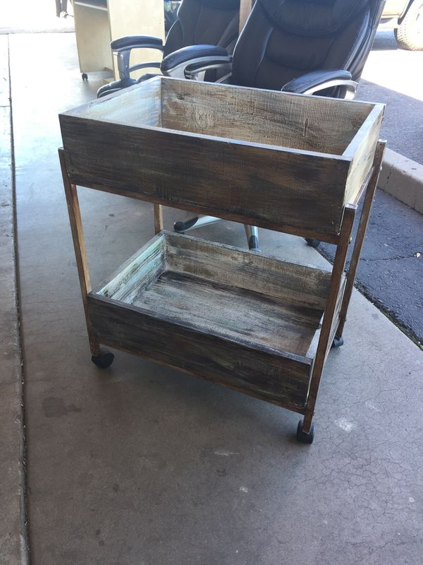 Roll Utility Cart We Are Located At 2811 E Bell Rd In The Front Building J K Furniture Another Time Around