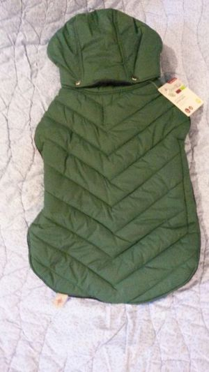 Medium green Dog coat for Sale in Midlothian, VA